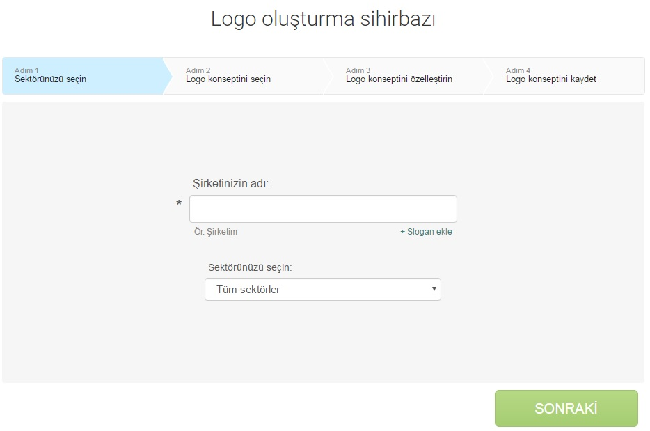 online logo yapımı