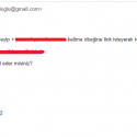 spam yorumlardan gelir