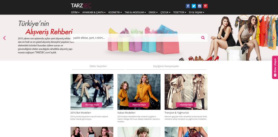 Giyim Sitelerinde Ara
