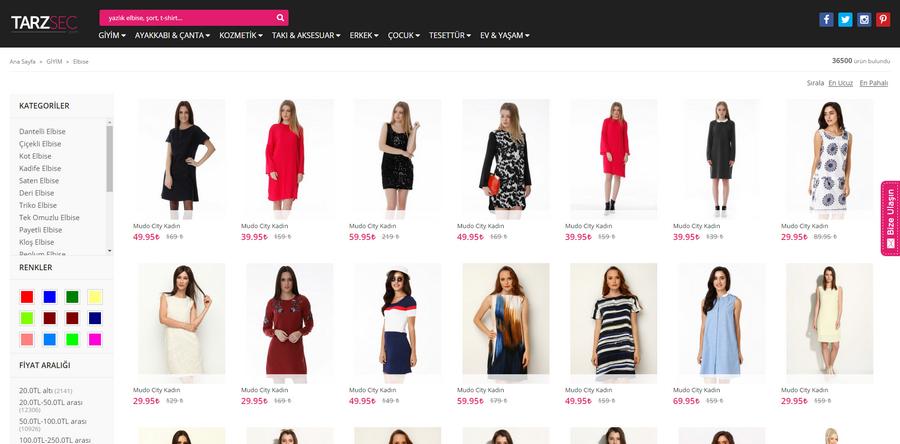 moda arama sitesi