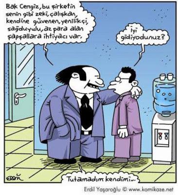 patron karikatür