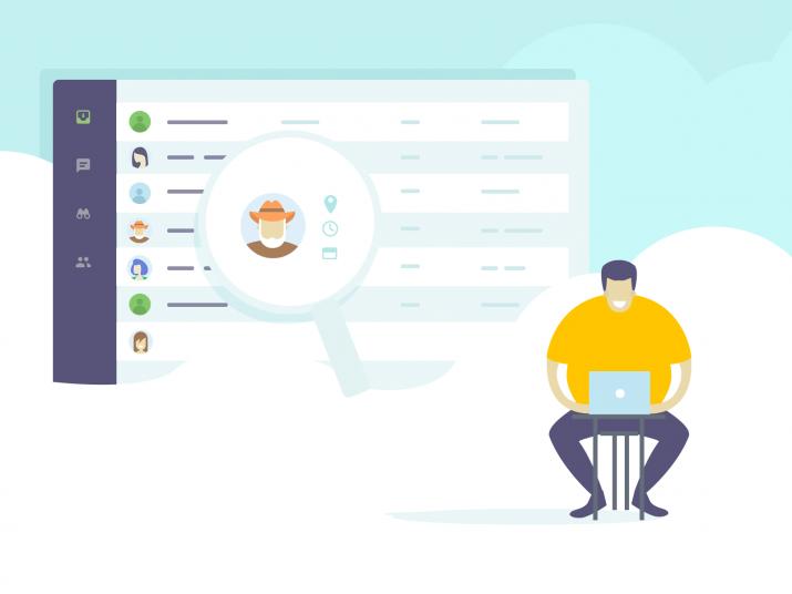 e-ticaret sitesi için canlı destek paneli