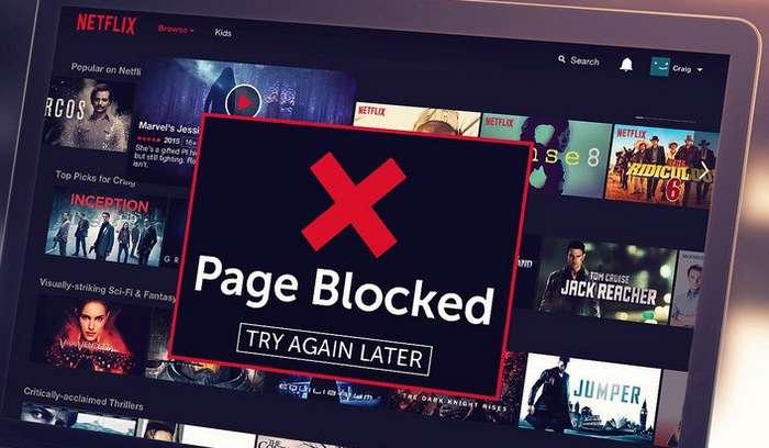 Netflix engellemeyi kaldırma